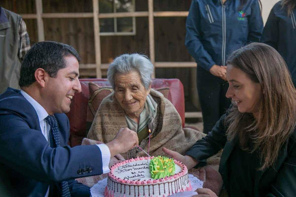 Cabrerina es la mujer más longeva del Biobío: cumplió 111 años