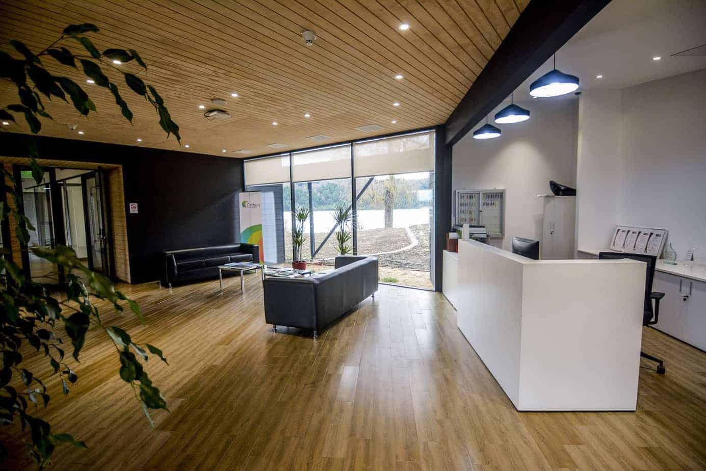 """Oficinas de Central Angostura reciben certificación de """"Edificio Sustentable"""""""