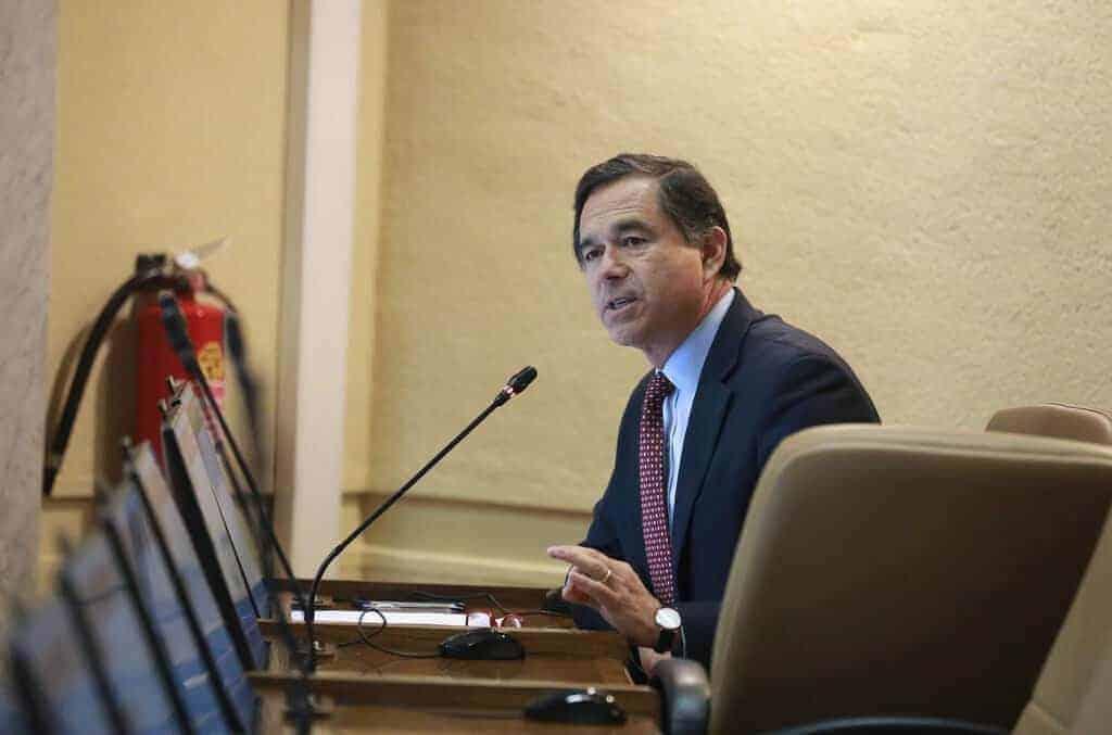 Diputado Norambuena manifiesta su rechazo a la Carretera Hídrica: «debe haber muchos intereses de por medio»