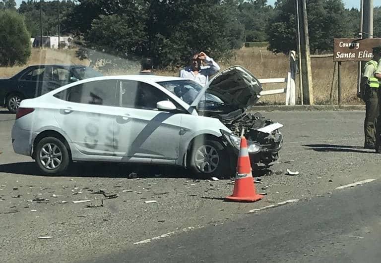 Tres lesionados deja accidente camino a Nacimiento