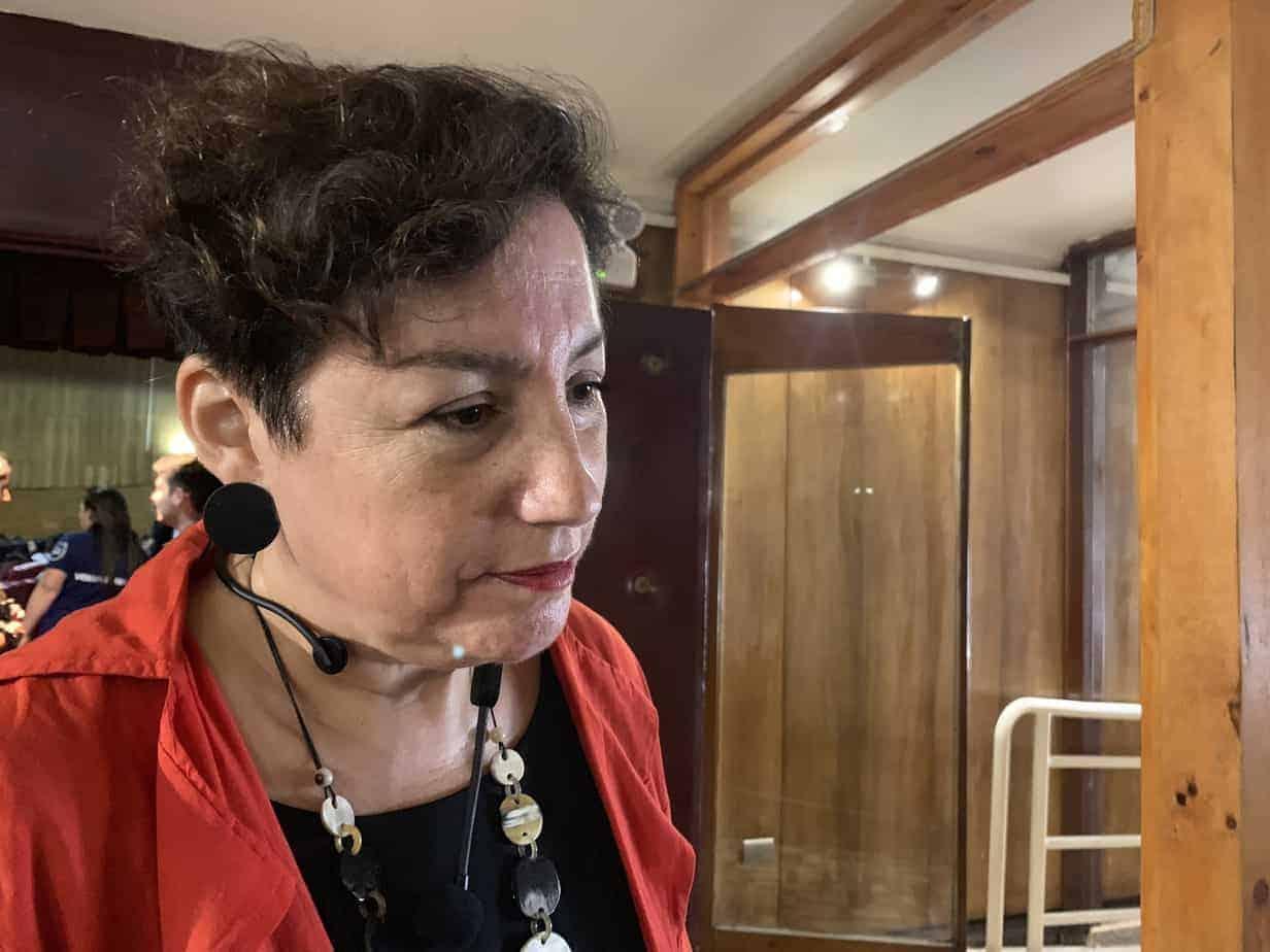 Beatriz Sánchez critica en Los Ángeles dichos del jefe de gabinete del Presidente de Brasil