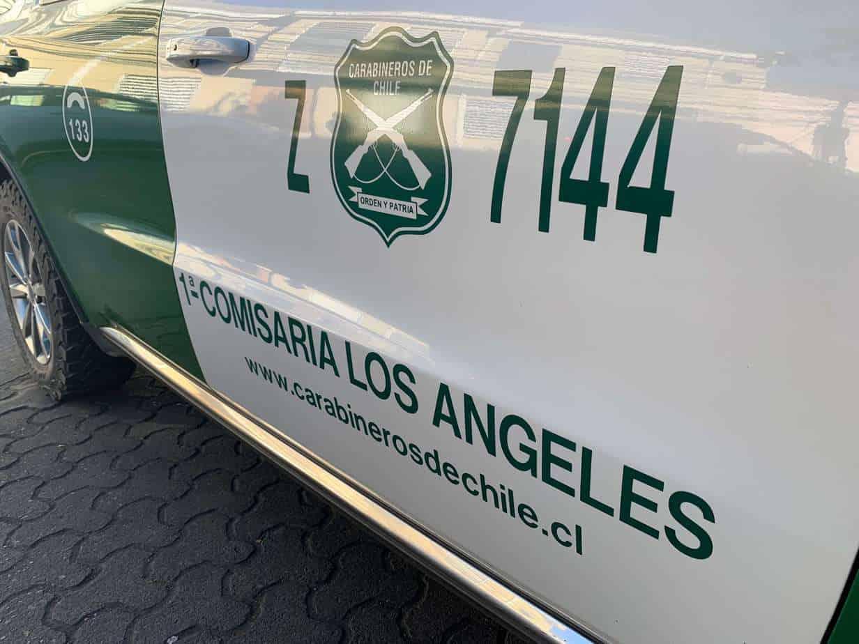 Triple colisión en la ruta Los Ángeles – Laja