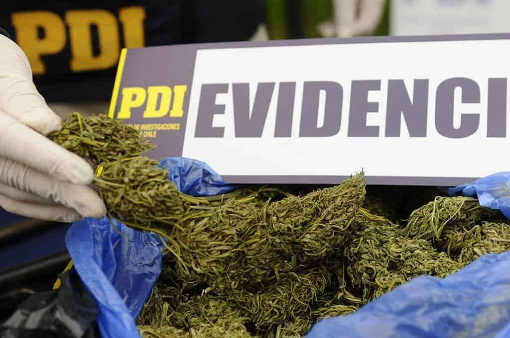 Mujer fue detenida con 3 kilos de marihuana en Quilaco