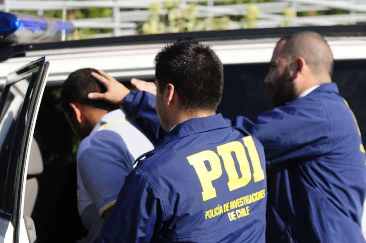 Hombre es detenido por la PDI al agredir verbalmente a su ex pareja en Los Ángeles
