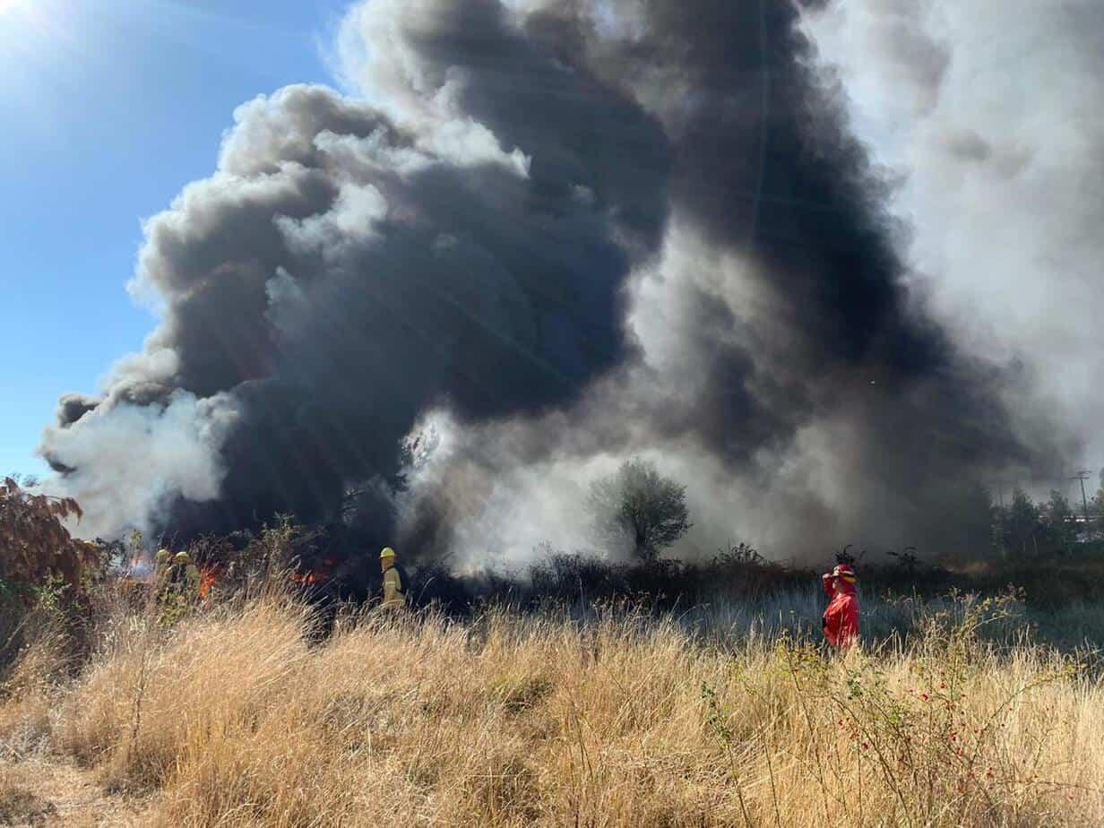 Bomberos logra controlar a tiempo incendio en Antuco: «Habríamos tenido nefastas consecuencias»