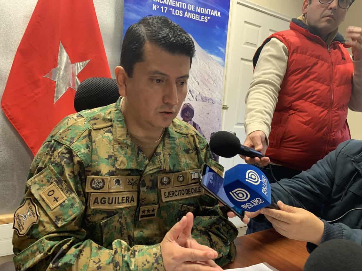 Comandante del Regimiento de Los Ángeles: «Tenemos 16 hombres en cuarentena por prevención»