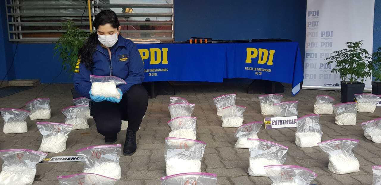 PDI ha reducido 114 puntos de venta de drogas en la region este 2019