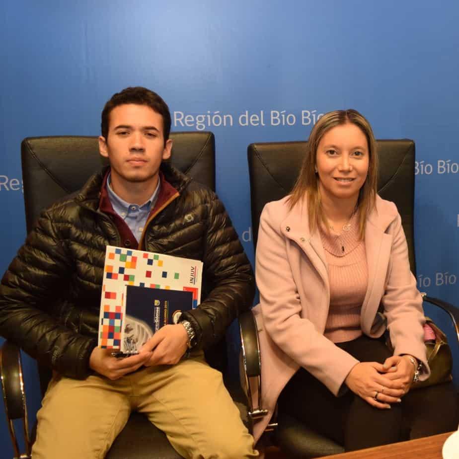 Estudiante de ingeniería de Virginio Gómez fue seleccionado regional  para participar en programa de Injuv