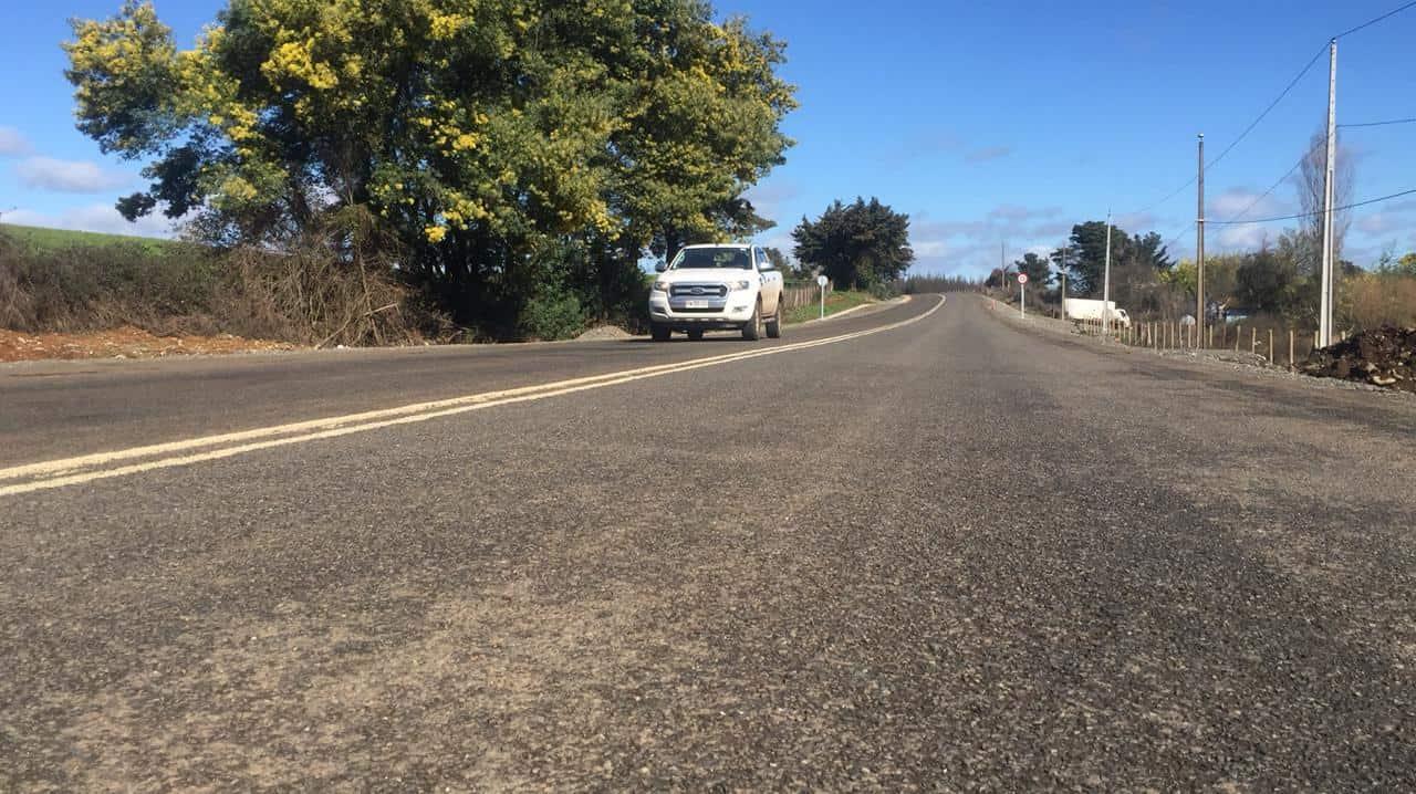 MOP confirma que en septiembre se retoman las obras de la ruta que une Mulchén con Quilaco
