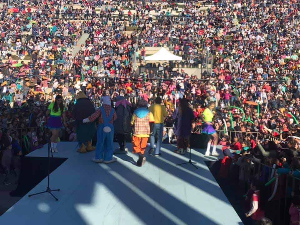 Más de 5 mil personas participaron del side show de REC en Laja
