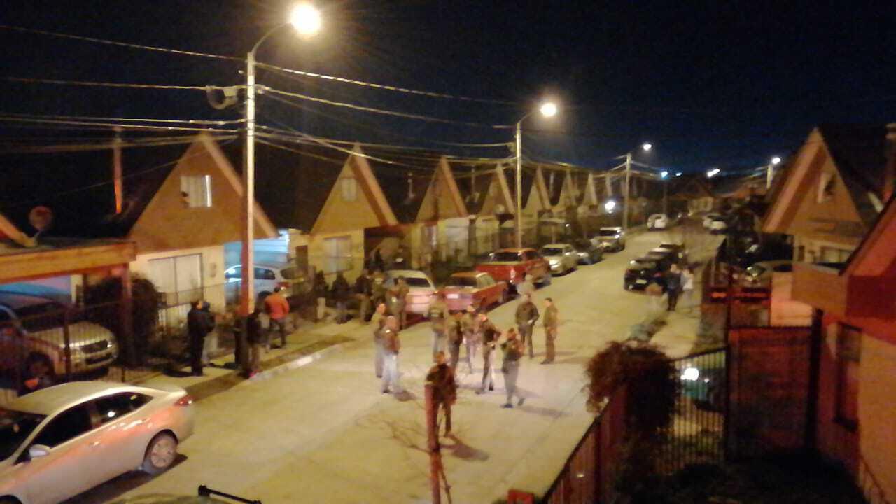 Cinco detenidos deja persecusión en avenida Sor Vicenta