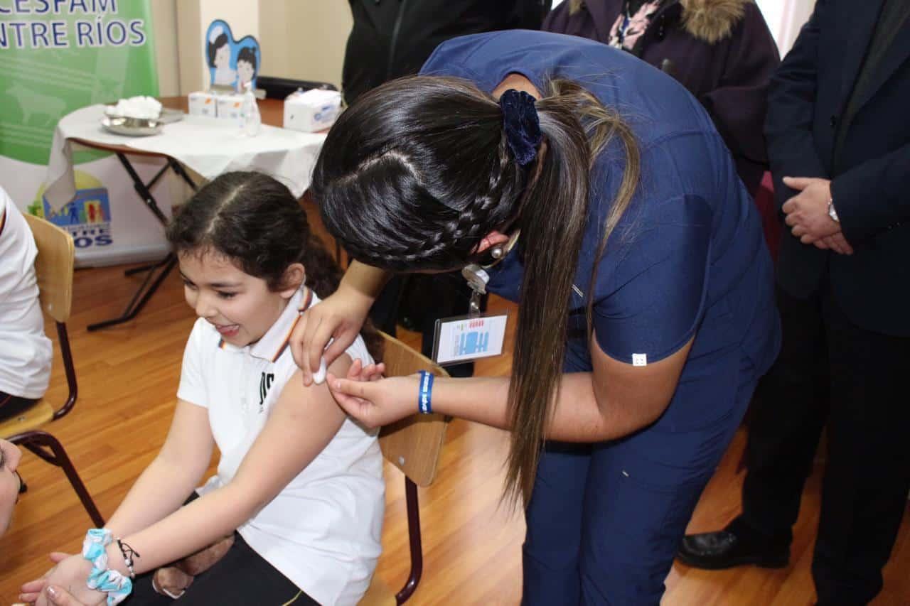 Solo 865 niños no fueron vacunados contra el Papiloma en la provincia de Biobío