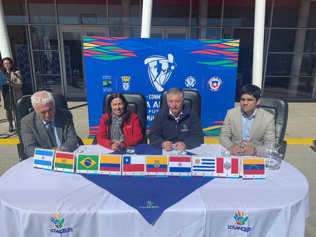 Ministra del Deporte oficializa Copa América de Futsal en Los Ángeles