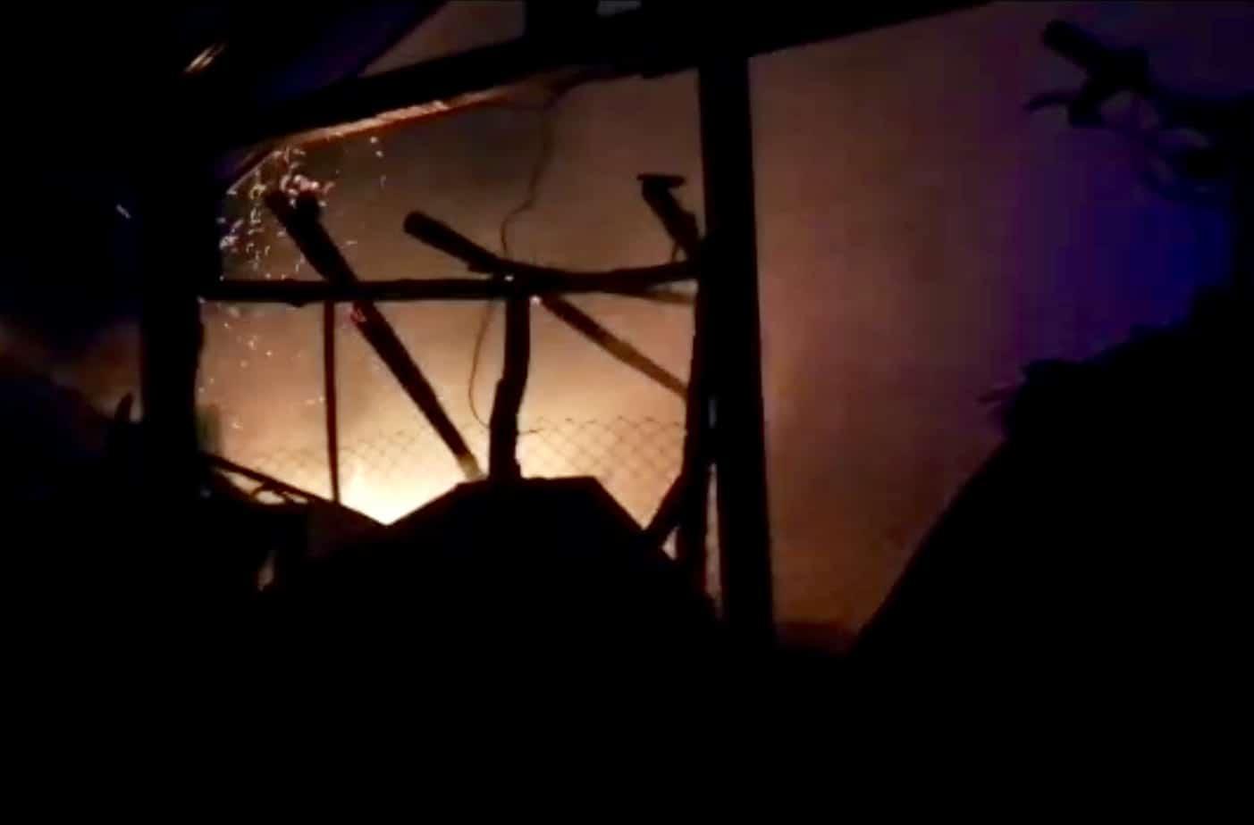 Cuatro viviendas afectadas deja incendio en Nacimiento