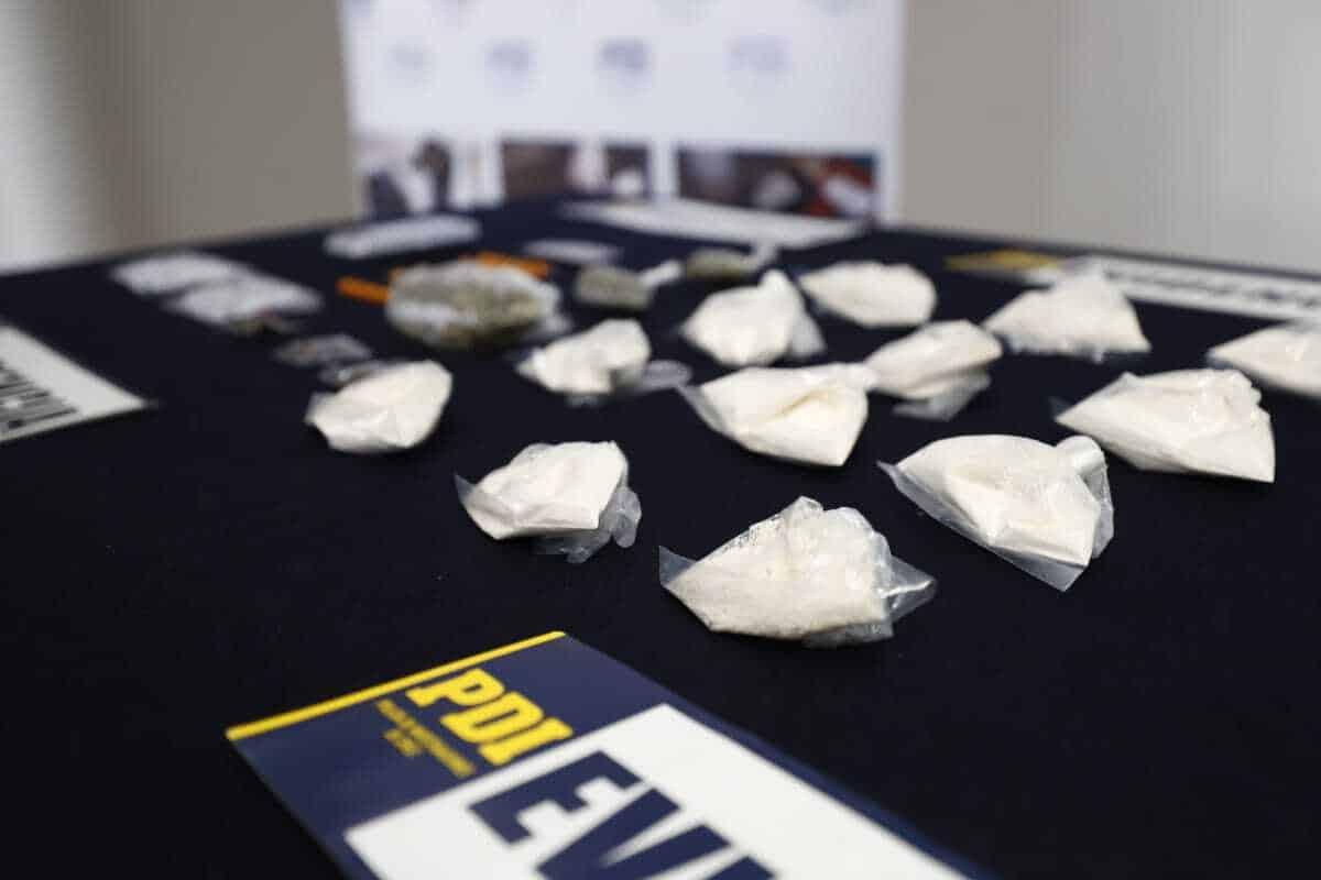 PDI detiene a un hombre con más de 21 mil dosis de droga en Laja