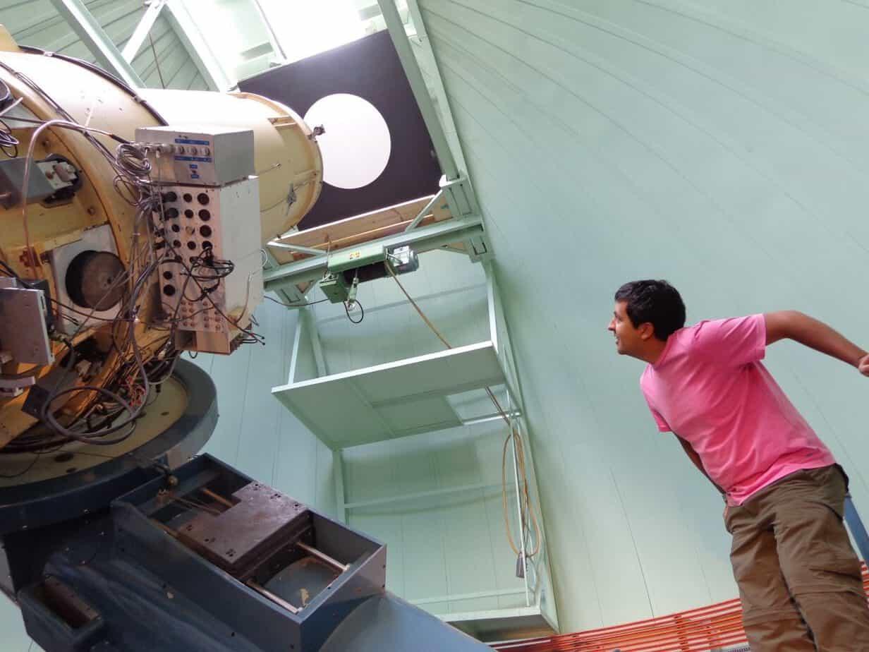 De astrónomo por accidente a ser contratado por una de las más prestigiosas universidades de Europa: la historia de Diego Calderón