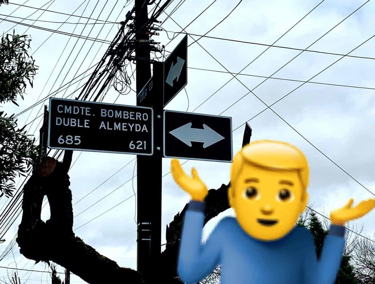 No es bombero: calle de Los Ángeles lleva por años un nombre equivocado