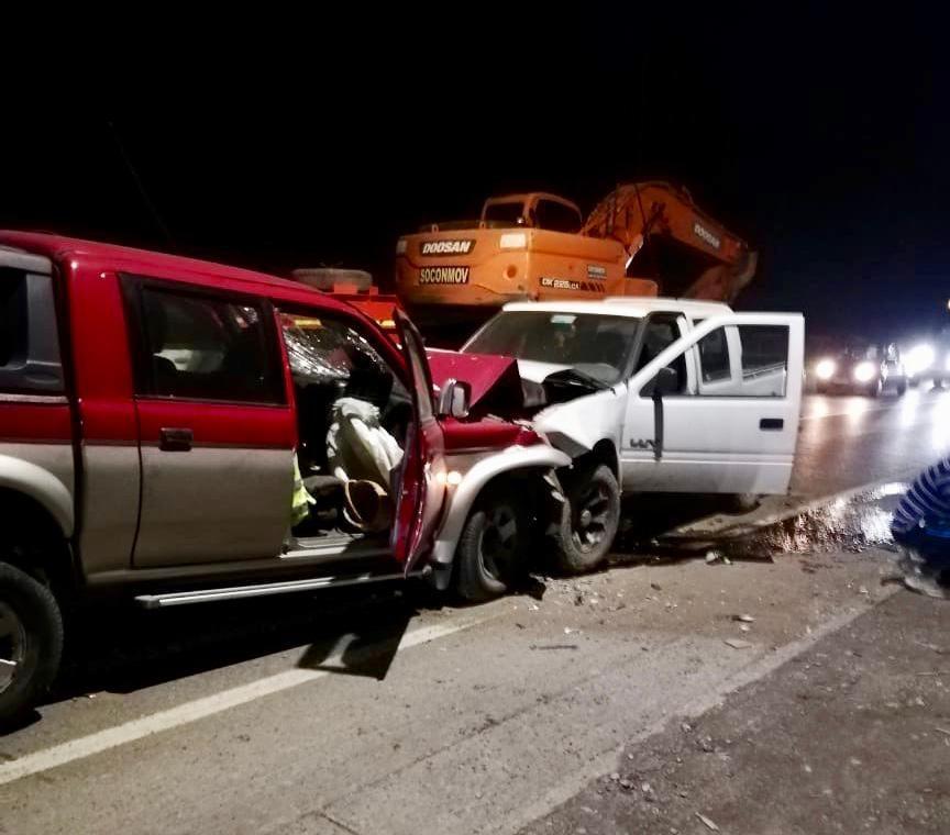 En la misma calle y a la misma hora: dos accidentes dejan cuatro lesionados en Nacimiento