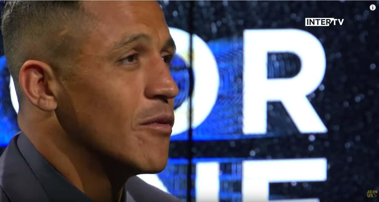 Y hablando en Italiano: Alexis Sanchez dio su primera entrevista tras fichar por el Inter de Milán