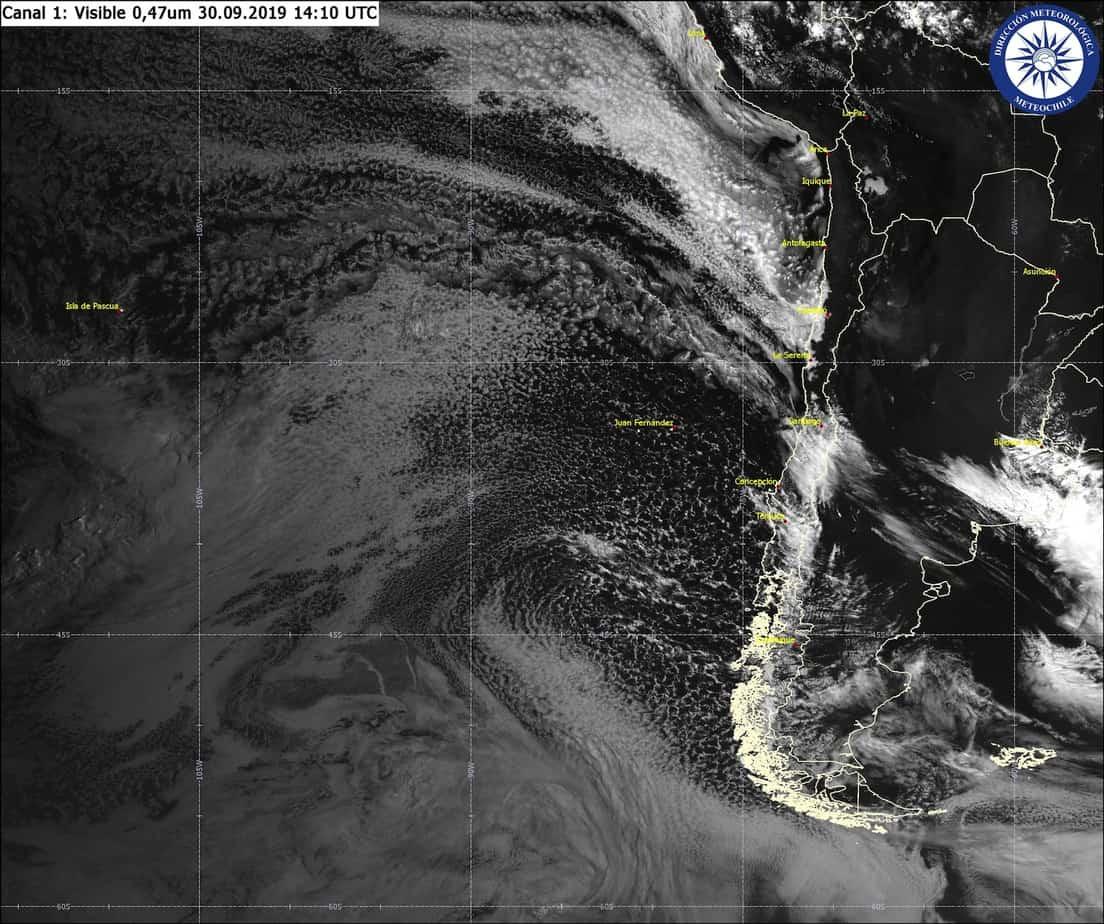 Dirección Meteorológica de Chile descarta caída de nieve en Los Ángeles
