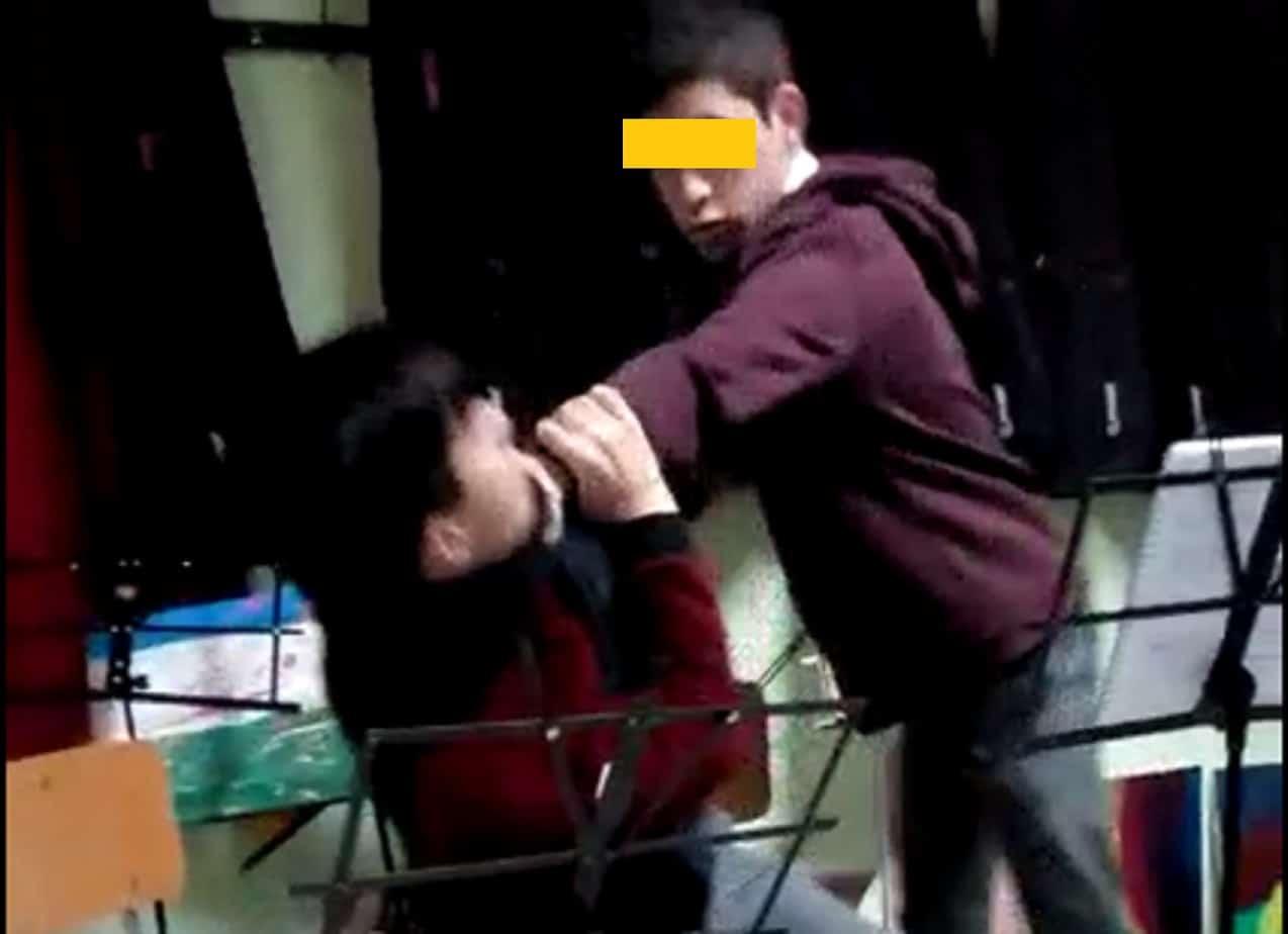 Alumno que atacó a golpes a compañero fue aislado del Liceo Industrial: «constituye un riesgo»