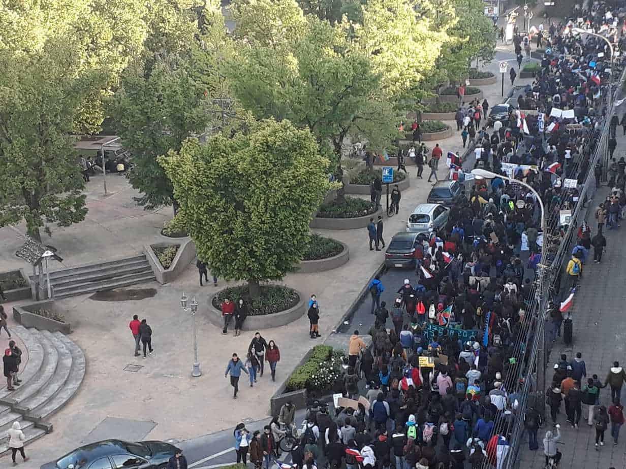Galería: Las imágenes que marcaron la marcha del 29 de octubre en Los Ángeles