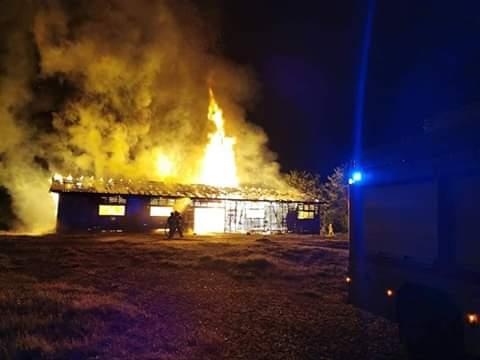 """Se incendia propiedad en el recinto del """"Castaño de O'Higgins"""" En Canteras"""