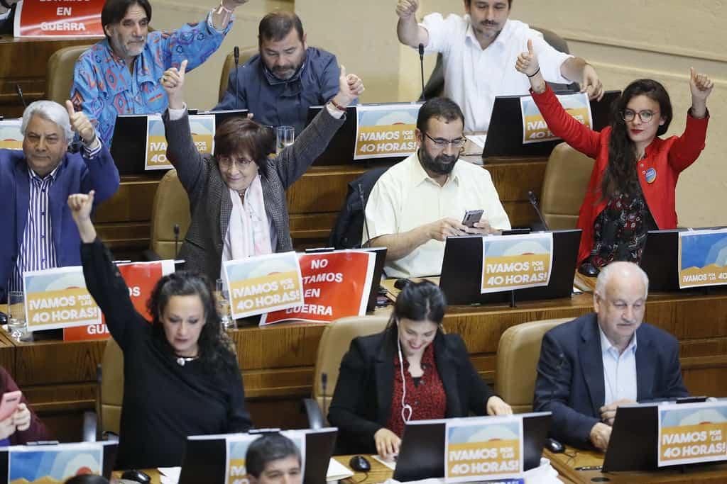 Diputados aprueban la idea de legislar la jornada de 40 horas