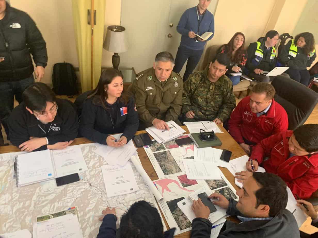 Servicios Públicos se coordinan ante una posible emergencia mayor en el Copahue