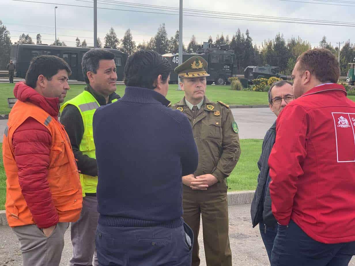 Tensión en ruta 5: Gobierno busca negociar con camioneros para que no corten la carretera