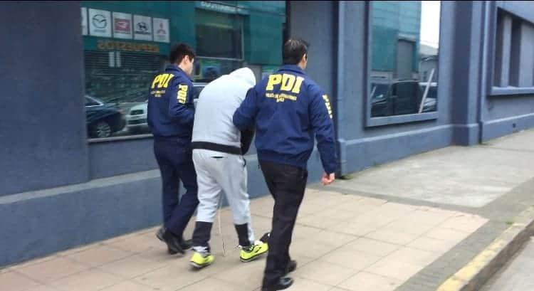 Hombre que estafó  en más de 10 ciudades entre ellas Los Ángeles fue detenido por la PDI
