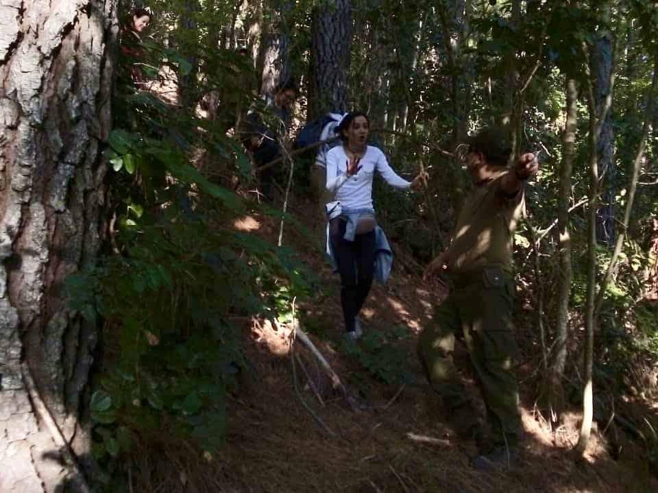Jóvenes se pierden tras recorrido en Alto Biobío y debieron ser rescatados