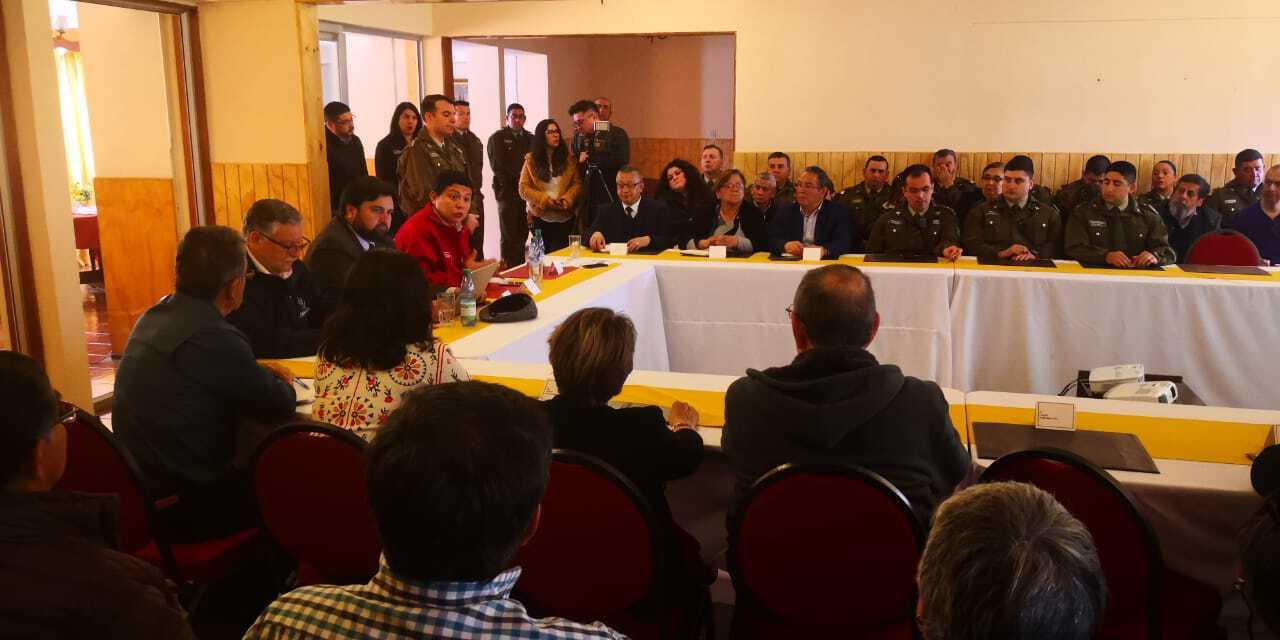 Gobernador de la provincia de Biobío encabeza primer STOP Vecinal