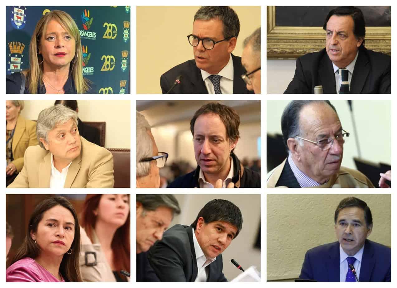 ¿Cuánto tiempo llevan los parlamentarios de la provincia de Biobío en sus cargos?