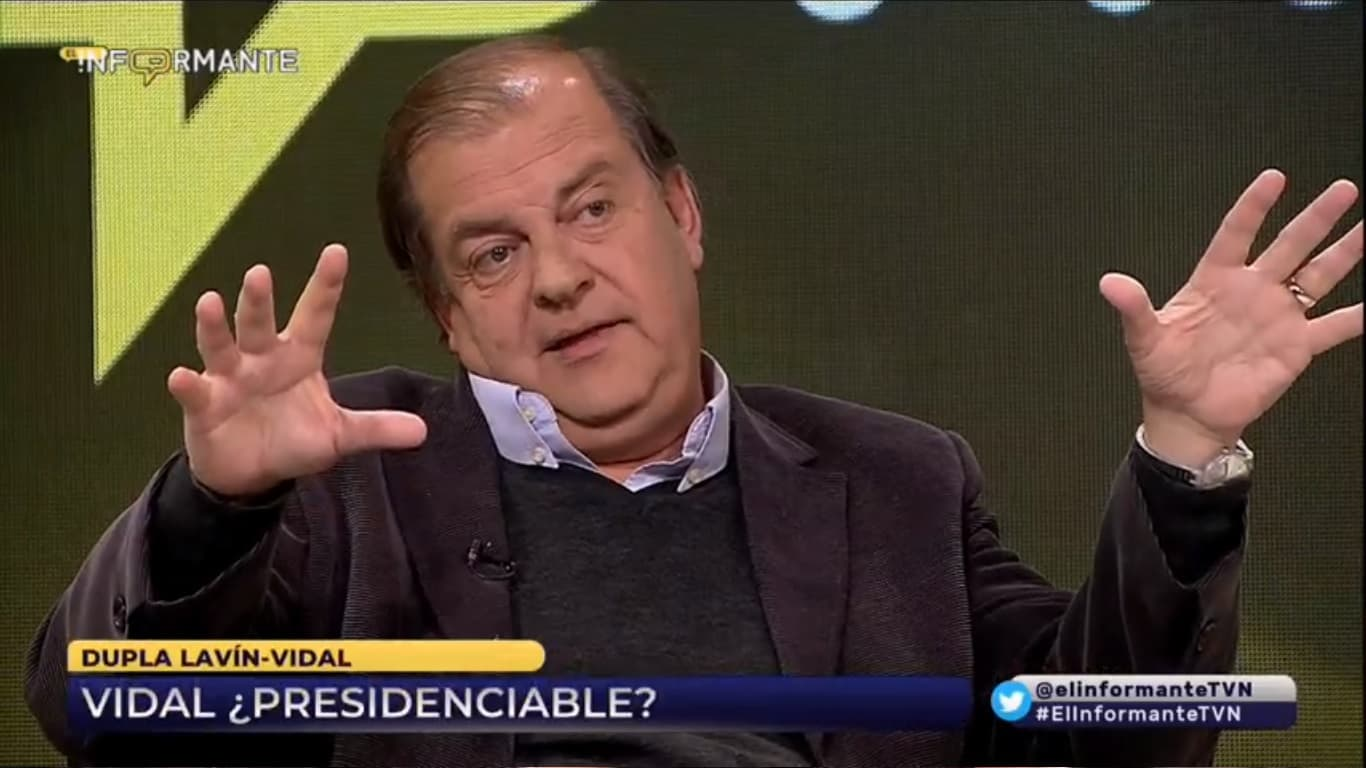 Francisco Vidal y las presidenciales 2021: «creo que sería muy buen candidato Felipe Harboe»