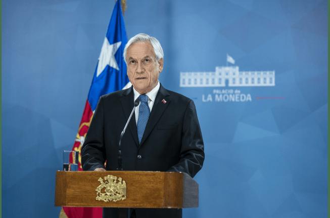 Presidente decreta estado de excepción constitucional de catástrofe por coronavirus