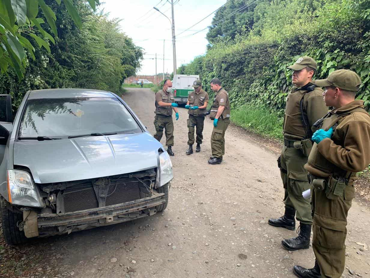 Asalto en bencinera del cruce Antuco: delincuentes huyen con más de 15 millones de pesos