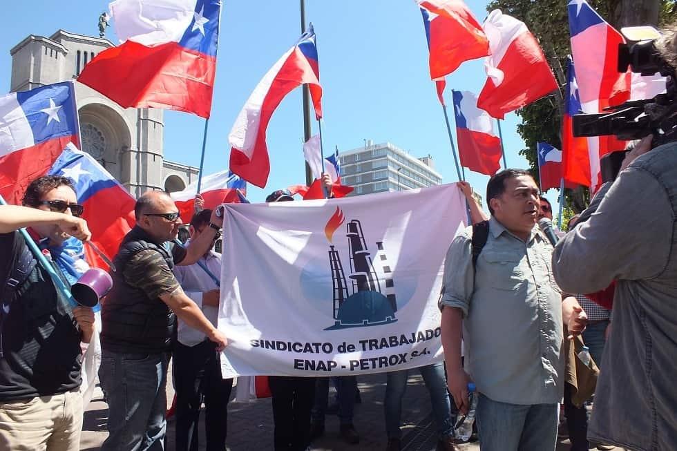 «Vamos a parar el país»: Trabajadores de ENAP confirman que iniciarán huelga productiva