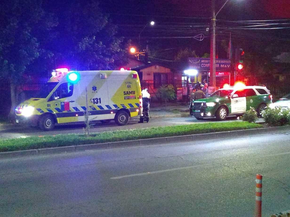 Colisión entre motocicleta y un triciclo deja un lesionado en Paillihue.
