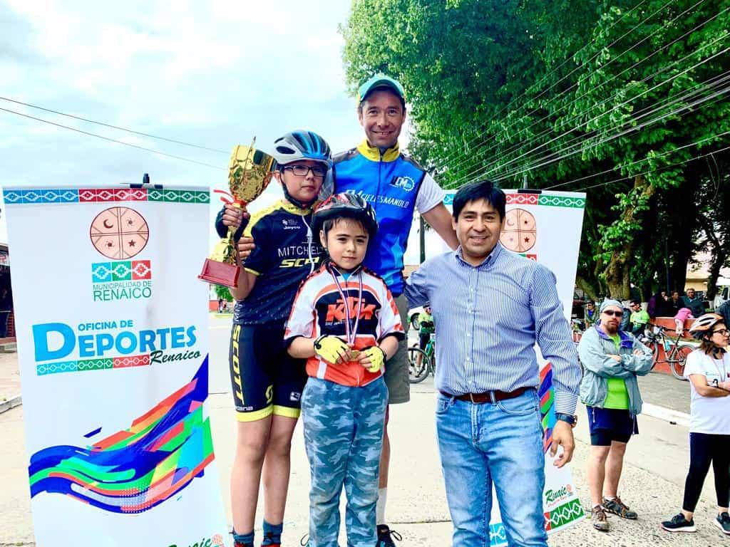 Angelino obtiene el primer lugar en regional de ciclismo en Renaico