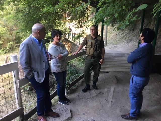 Realizan visita en Saltos del Laja para fijar nuevas dependencias policiales