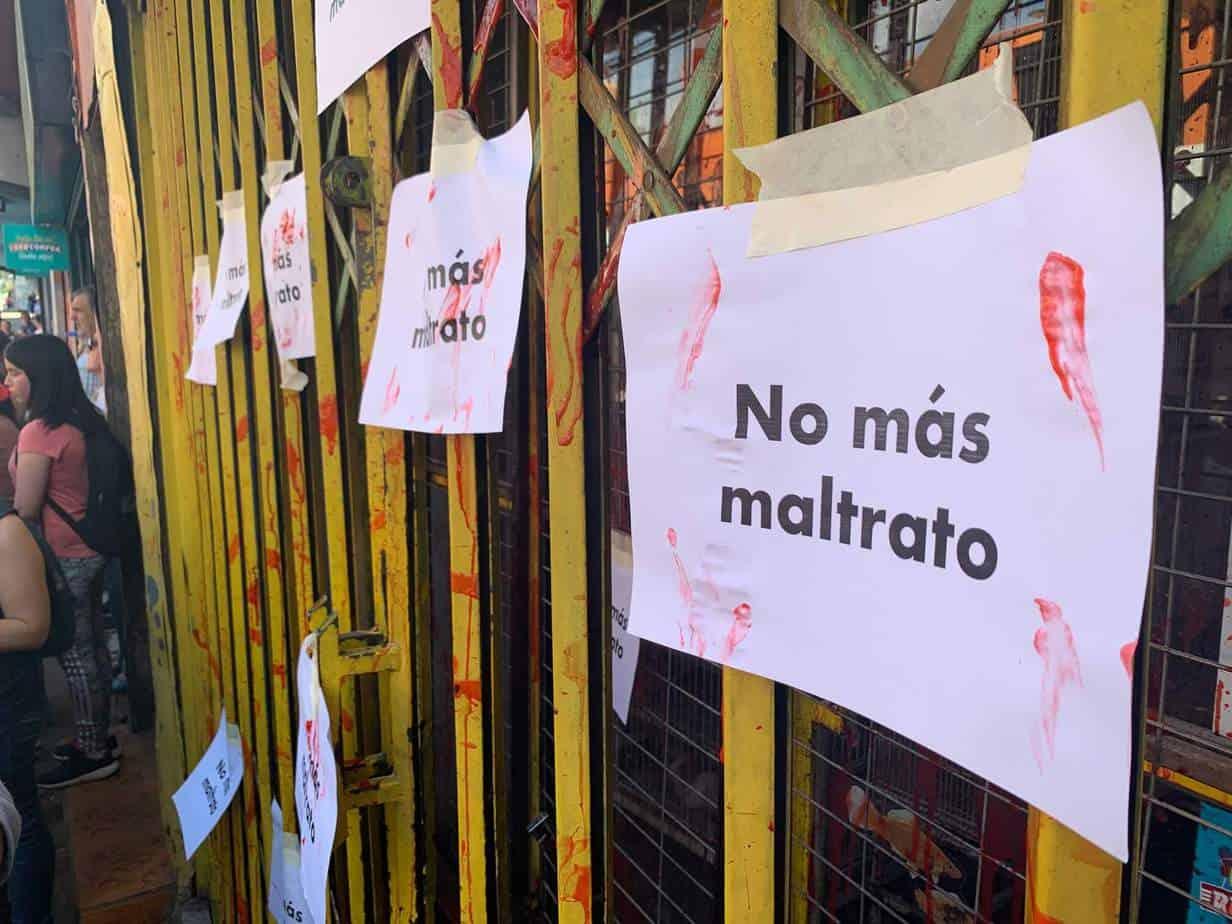 Más de un centenar de personas realiza «funa» por maltrato animal a tienda de mascotas