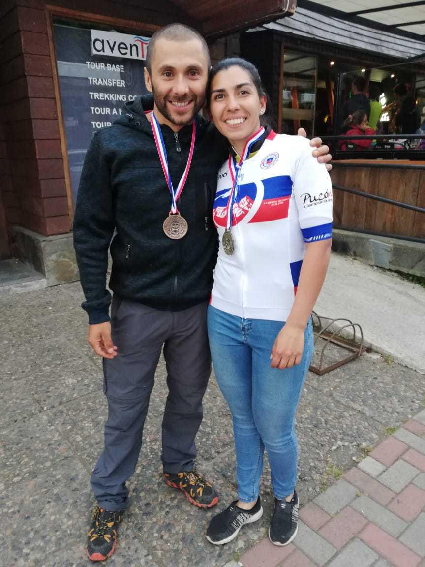 Angelino y Mulchenina llegan al podio en Campeonato Nacional de Cross-Country Maratón de Pucón