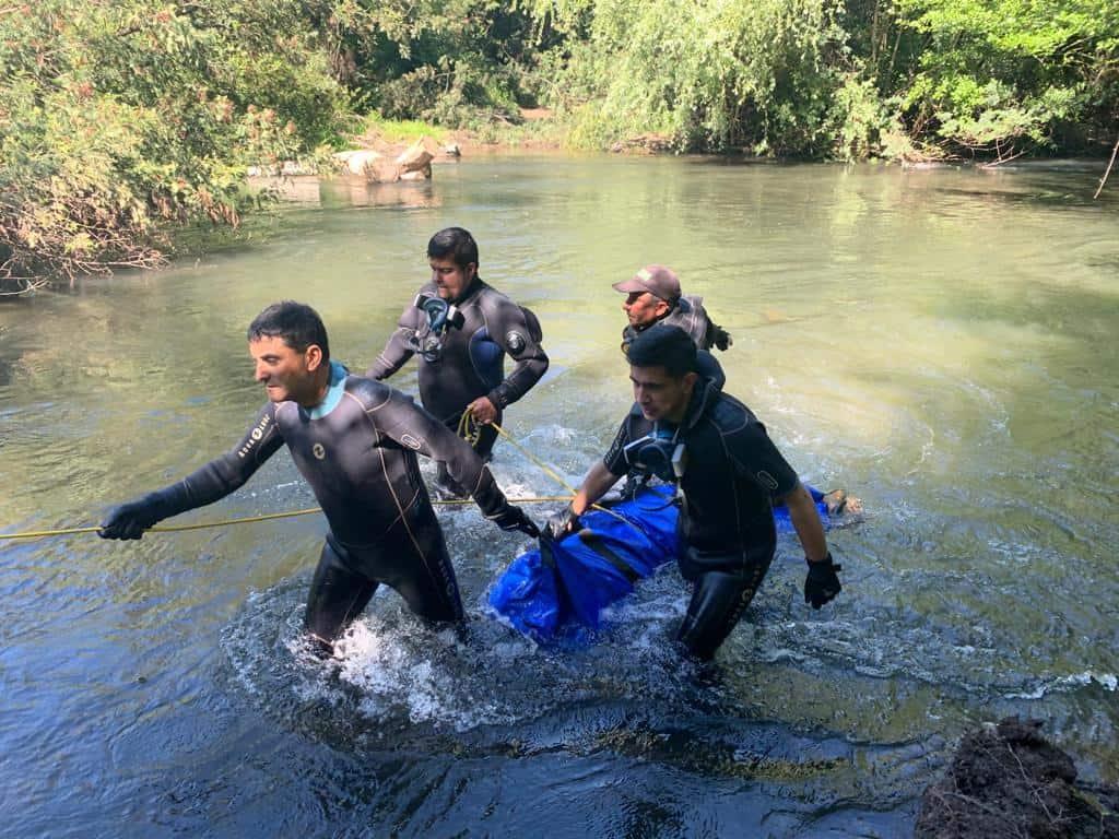 Rescatan cuerpo en avanzado estado de descomposición camino a Santa Bárbara