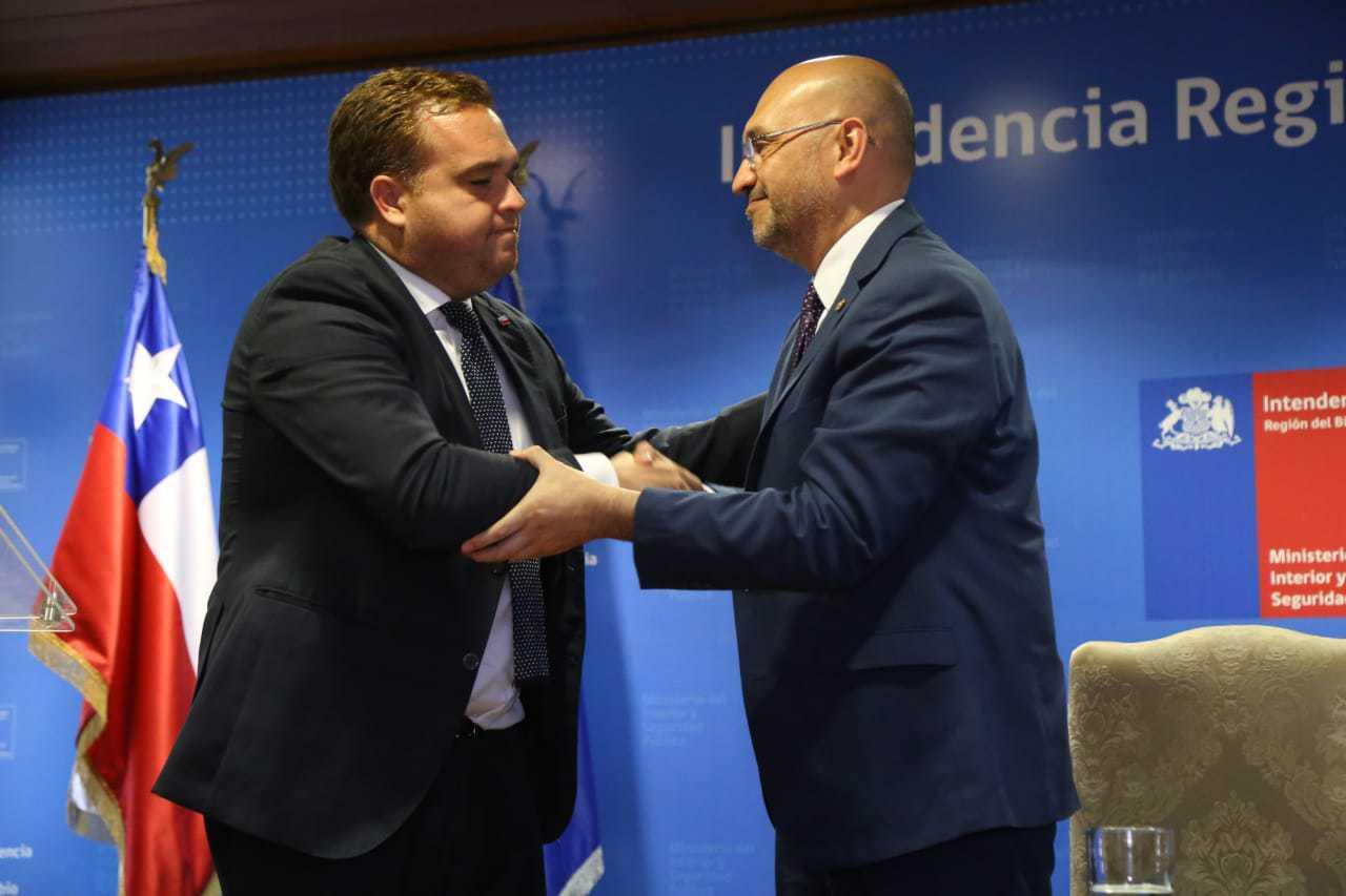 Asume nuevo jefe regional de la PDI en el Biobío
