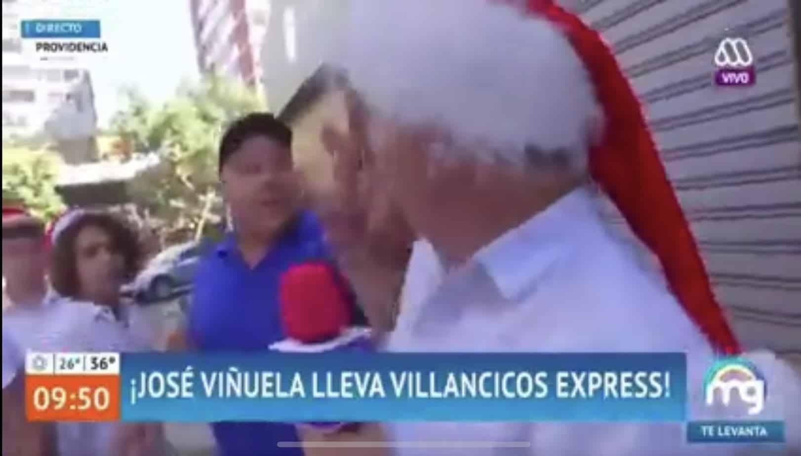 Intentan agredir a Viñuela en plena transmisión del Mucho Gusto