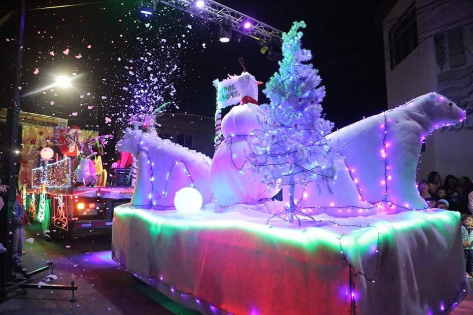 Galería: La magia de la Navidad llegó a Mulchén