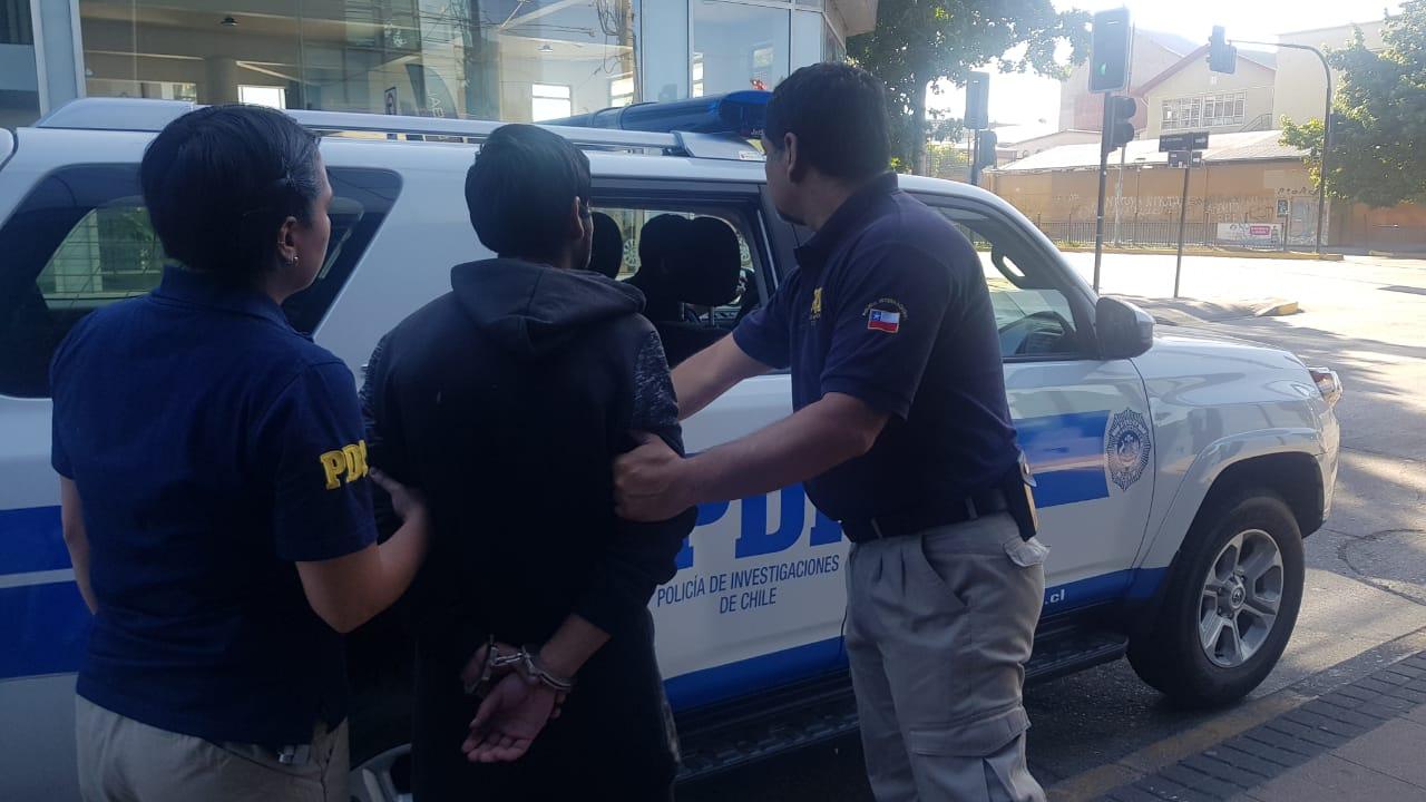 PDI detiene a sujeto acusado de abusar de una menor de 11 años en Hualqui