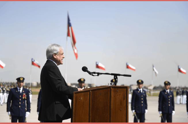 Piñera y víctimas del C130: «han sido un verdadero ejemplo de vocación, de coraje y de coherencia