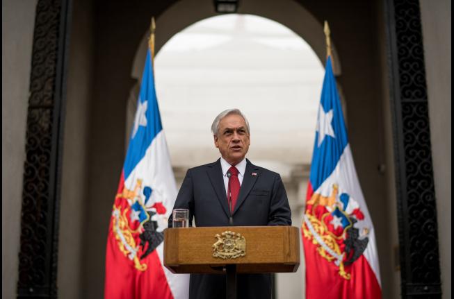 Piñera: «El 2019 fue un año duro y difícil que dejó heridas en el cuerpo y alma de nuestro país»